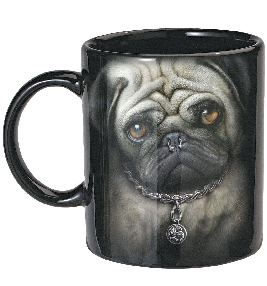Pug Life Ceramic Mugs 0.3L - Set Of 2
