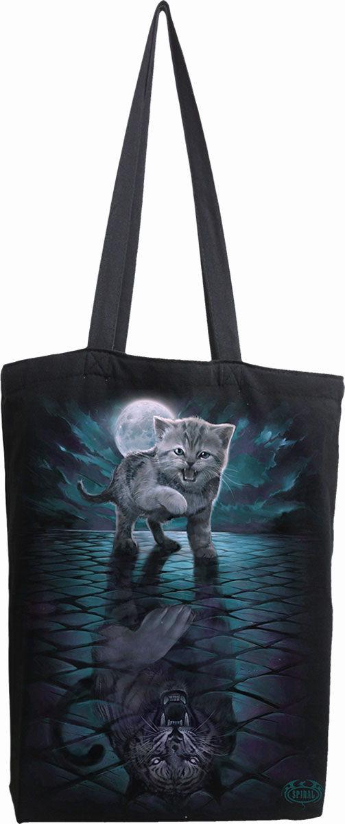 Wild Side Bag 4 Life - Canvas 80Z Long Handle Tote Bag