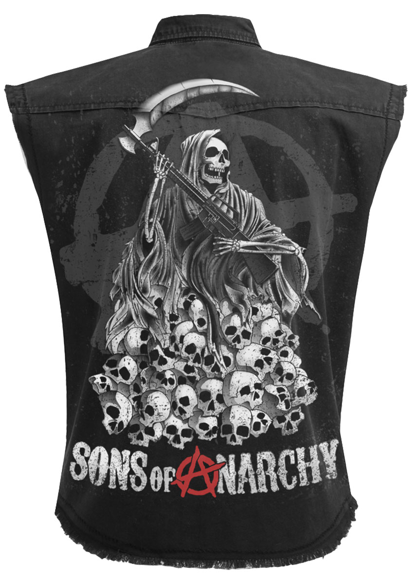 Spiral soa reaper skulls sons of anarchy stone washed workerreaper spiral soa reaper skulls sons of anarchy stone voltagebd Gallery