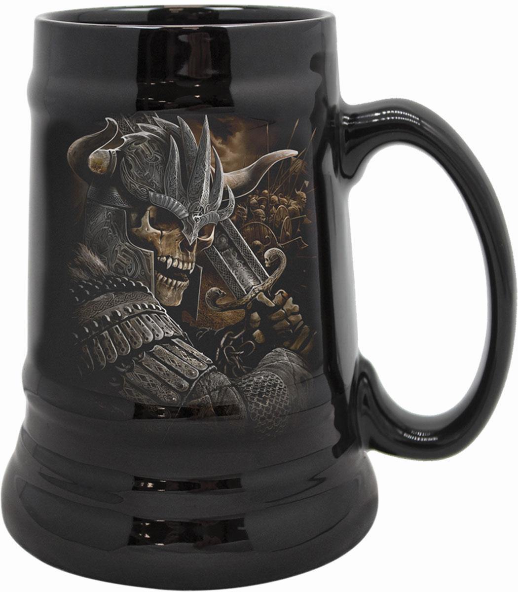Viking Warrior Steins - Ceramic Beer Mug - Gift Boxed