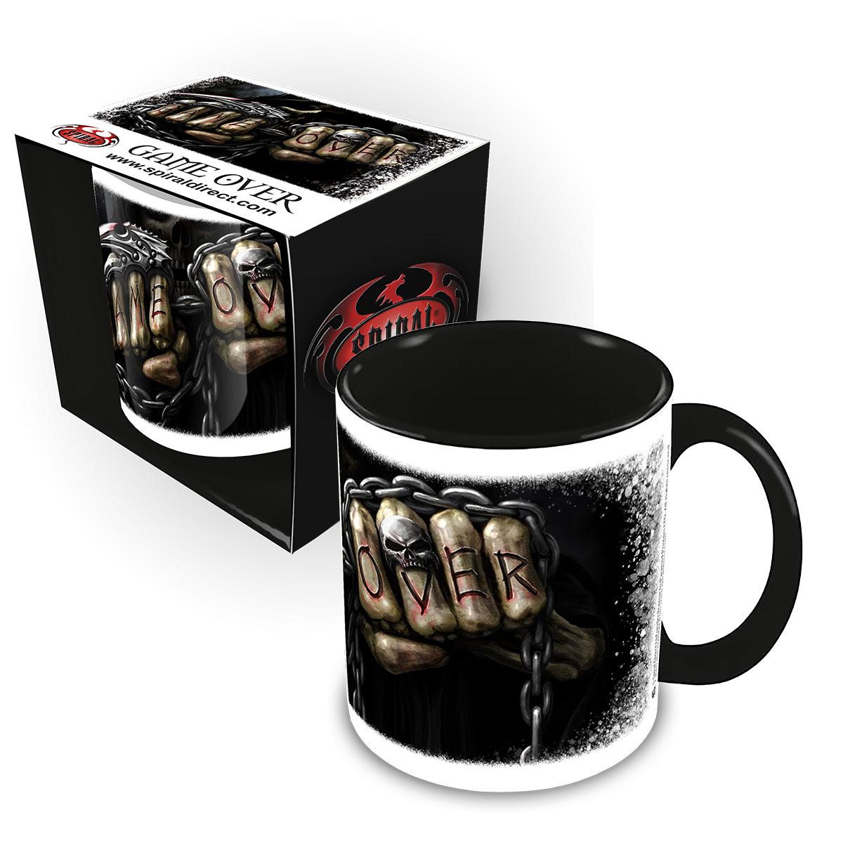 Game Over Ceramic Mug 0.3L - Gift Boxed